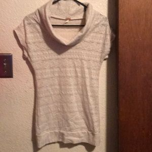Women's lace top made by Poof size small